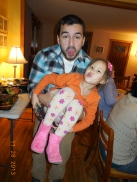 Uncle Chris and Kaia